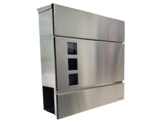 Buzones Stainless Steel 304 Toledo con llave, MG Inter / Space Designs Puerto Rico