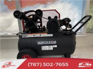 Compresor de aire eléctrico 2hp 135 Max psi, Planet Honda GENERADORES Puerto Rico