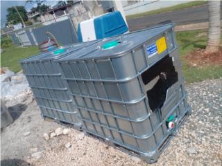 Tanques de 275 gls para agua o combustible, NEBRIEL ENVASES DE PUERTO RICO Puerto Rico