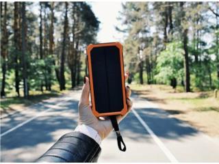 Cargadores Solares con Linterna 10,000 MAH, EXPRESS MART Puerto Rico