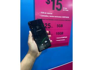 Samsung A20s Desbloqueado y Con Garantia, Smart Solutions Repair Puerto Rico