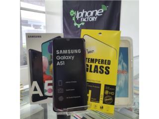 Samsung A51  128 GB Black Unlock , Iphone FACTORY Puerto Rico