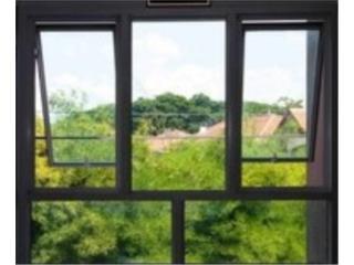 Ventanas Proyectantes 36x48, #1 SANTIAGO WINDOW & DOORS Puerto Rico