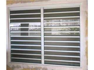 Ventanas De Seguridad Lama 3 Cristal 24 x 48, #1 SANTIAGO WINDOW & DOORS Puerto Rico