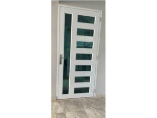 Puertas de Una Hoja Con Diseño , #1 SANTIAGO WINDOW & DOORS Puerto Rico