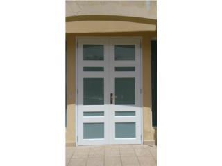 Puertas Dobles Con Diseños 60, #1 SANTIAGO WINDOW & DOORS Puerto Rico