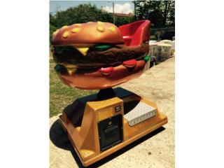 Kiddie Ride Hamburger , ARTEC Puerto Rico