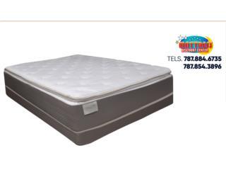 Set de mattress Bassett modelo Perfection PT, Mattress Discount Center Puerto Rico