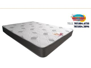 Set de mattress Royal Pedic Tight Top, Mattress Discount Center Puerto Rico