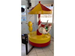 Carousel para Niños por Monedas, ARTEC Puerto Rico