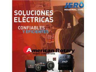 Convertidores 1PH A 3PH - American Rotary, JERO Industrial Puerto Rico