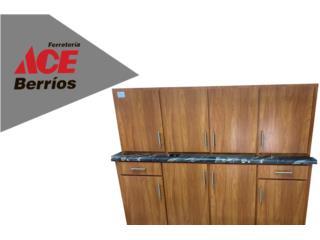 San Juan Puerto Rico Muebles Mesas Comedor, Variedad de Gabinetes en PVC