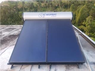Calentador de Agua Solar Instalado, MAC Autosport  Puerto Rico