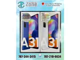 Samsung A31 128GB NUEVO Y DESBLOQUEADO , The Technology Zone Puerto Rico