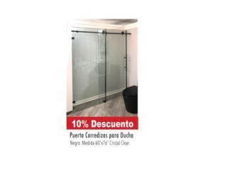 Puerta corrediza para ducha, Ferreteria Ace Berrios Puerto Rico