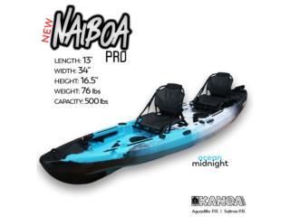 NUEVO 2021 KANOA NAIBOA PRO kayak con timón!, KANOA kayaks Puerto Rico