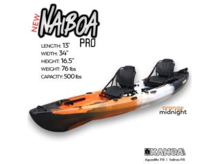 NUEVO KANOA Naiboa PRO kayak-Orange Midnight, KANOA kayaks Puerto Rico