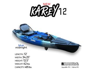 New KANOA Karey 12 propeller kayak, KANOA kayaks Puerto Rico