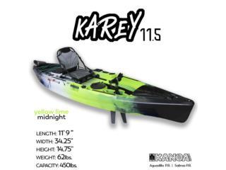 KANOA Karey 11.5 pedal kayak, KANOA kayaks Puerto Rico