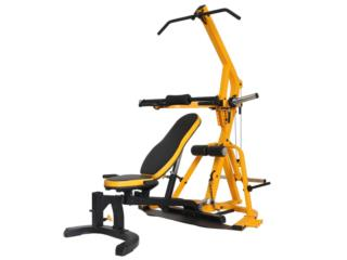 POWERTEC WORKBENCH LEVERGYM®-Yellow, Healthy Body Corp. Puerto Rico