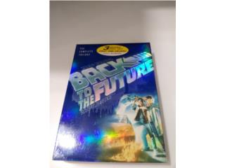 BACK TO THE FUTURE BOX SET DVD'S, BLESSED IMPORTS Puerto Rico