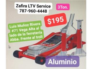 Gato de 3Ton Aluminio. 195 Vega Alta, Zafira LTV Service Corp. Puerto Rico
