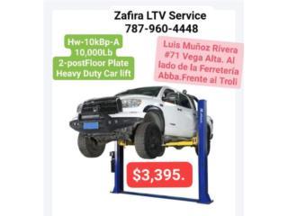 Pinos dos postes ( 2 Post Floor Plate $3398 , Zafira LTV Service Corp. Puerto Rico