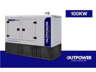 PERKINS 100KW, Outpower Energy Corp. Puerto Rico