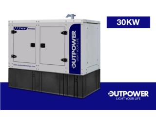 PERKINS 30KW, Outpower Energy Corp. Puerto Rico