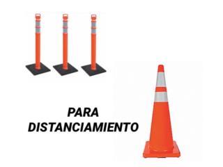 CONOS Y DELINATOR POST, SP INDUSTRIAL TENTS  Puerto Rico