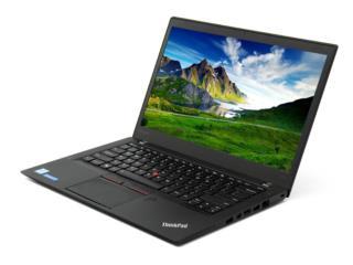 Lenovo T460 8gb RAM 120gb SSD, i5, E-Store PR Puerto Rico