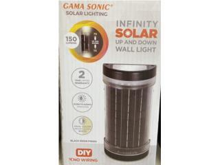 Lampara solar Gama Sonic, LA FAMILIA MANATI  Puerto Rico