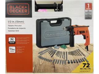 Taladro Martillo Black & Decker 650 watts, LA FAMILIA MANATI  Puerto Rico