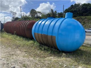 Tanques de Fiber Glass de 4,000 galones, AGUSTIN CARDONA Puerto Rico