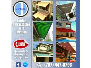 Cortinas Retractables , Vimar Imports of PR Inc. Puerto Rico