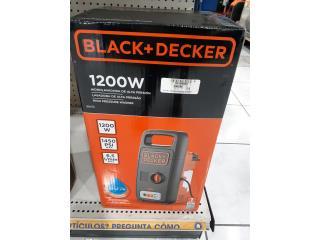 BLACK & DECKER 1200W PRESSURE WASHER, La Familia Casa de Empeño y Joyería-Yauco  Puerto Rico