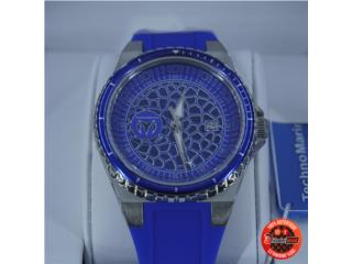 TechnoMarine Technocell - Blue/Silver $89, Discount Offer Puerto Rico
