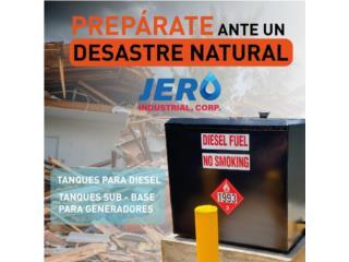 Fajardo Puerto Rico Sistemas Seguridad - Camaras, Tanque 100 Gal - Doble Pared o Pared Sencilla