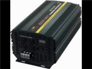 POWER INVERTER PRO USA 5mil a 10mil watts NEW, INVERTER TECH Puerto Rico