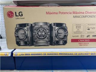 Mini componente LG CM4360, La Familia Casa de Empeño y Joyería-Ave Piñeiro Puerto Rico