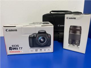 Canon EOS Rebel T7, La Familia Casa de Empeño y Joyería-Ave Piñeiro Puerto Rico