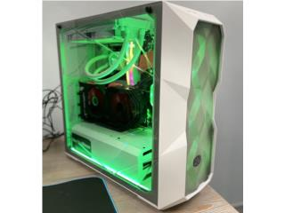 PC GAMING OPTION 2 COOLER MASTER WHITE, E-Store PR Puerto Rico