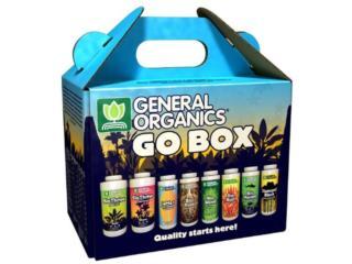 KIT GO BOX GENERAL ORGANICS, TECNO-LITE of PR  Puerto Rico