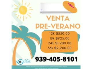 PRE-VERANO, NO ESPERES QUE EL CALOR APRIETE!!, Global Full Service Inc Puerto Rico