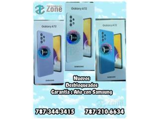 SAMSUNG A72 - Variedad de colores , The Technology Zone Puerto Rico