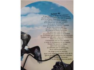 Plato decorativo Salmo 91, BLESSED IMPORTS Puerto Rico