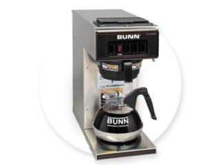 Maquina Bunn-o-Matic Colar cafe Oficinas, VIP COFFEE RENTAL Puerto Rico