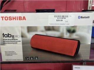 Bocina Toshiba nueva $30 aprovecha!, La Familia Casa de Empeño y Joyería, Bayamón Puerto Rico