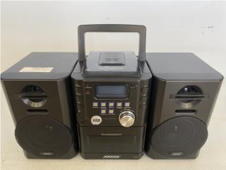 Mini stereo axess buen estado $50 aprovecha!, La Familia Casa de Empeño y Joyería, Bayamón Puerto Rico