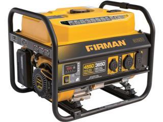 Generador FIRMAN 3650 con control remoto, Cashex Puerto Rico
